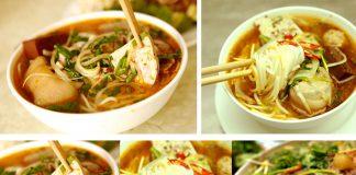 Món bún bò huế ngon ngất ngây tại quận Tân Phú