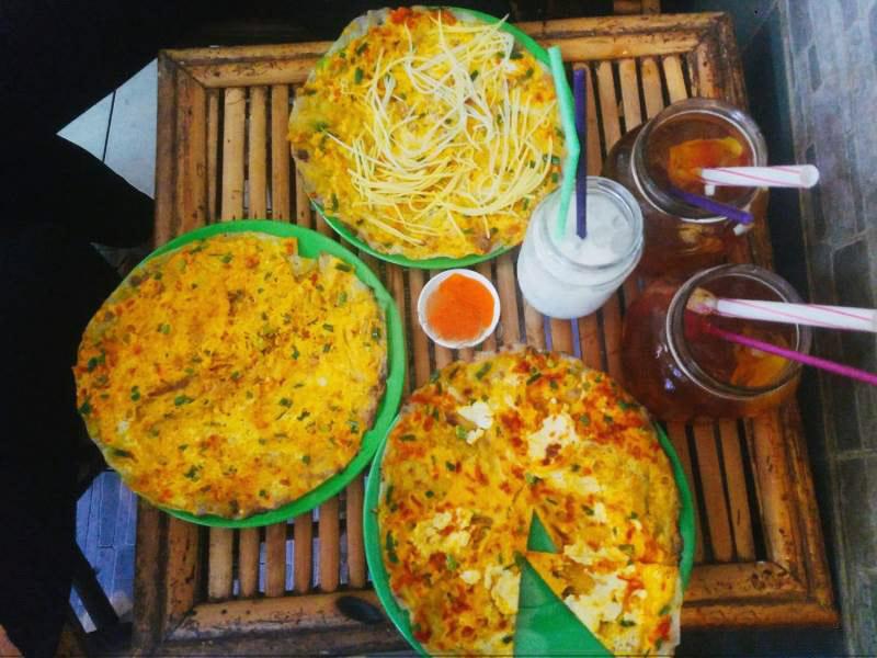 Các món bánh tráng nướng Đà Lạt Tại Sài Gòn