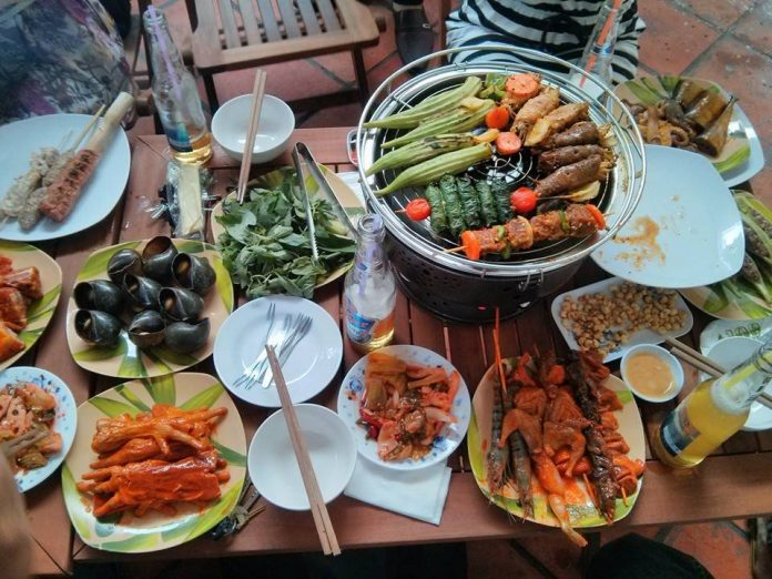 Quán ăn ngon đường Lê Trọng Tấn