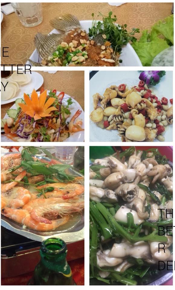 Các món ăn tại một bữa ăn gia đình tại Ẩm thực 45