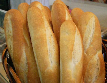 bánh mì tự nướng