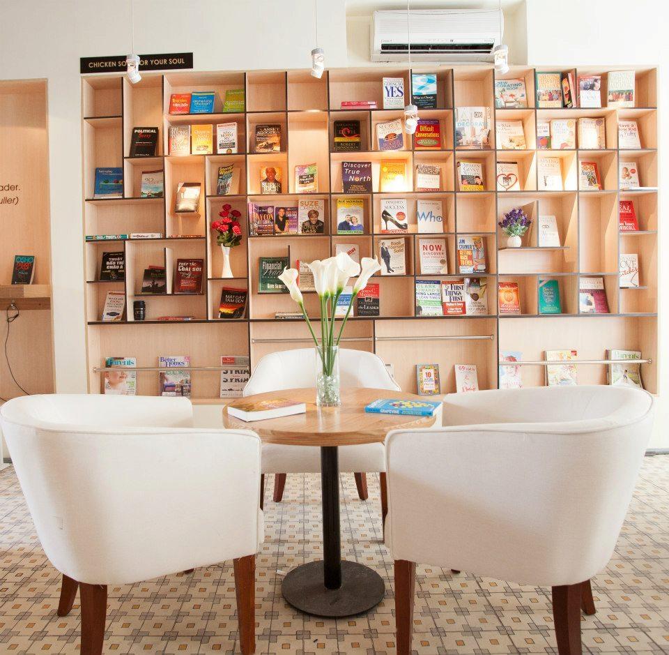 Không gian ngập tràn sách như thiên đường