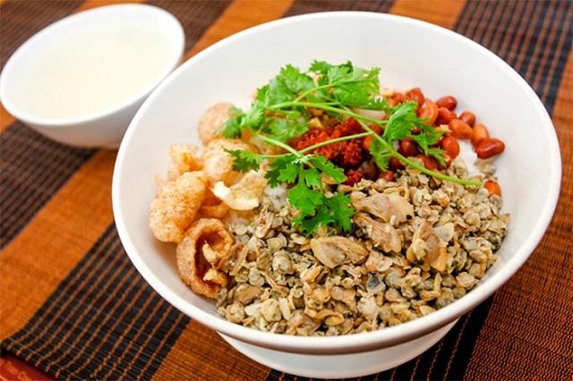 Bún Hến và các món ăn từ Hến