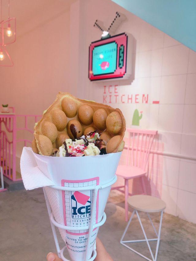 Ice Kitchen siêu dễ thương và lên hình thì siêu lung linh