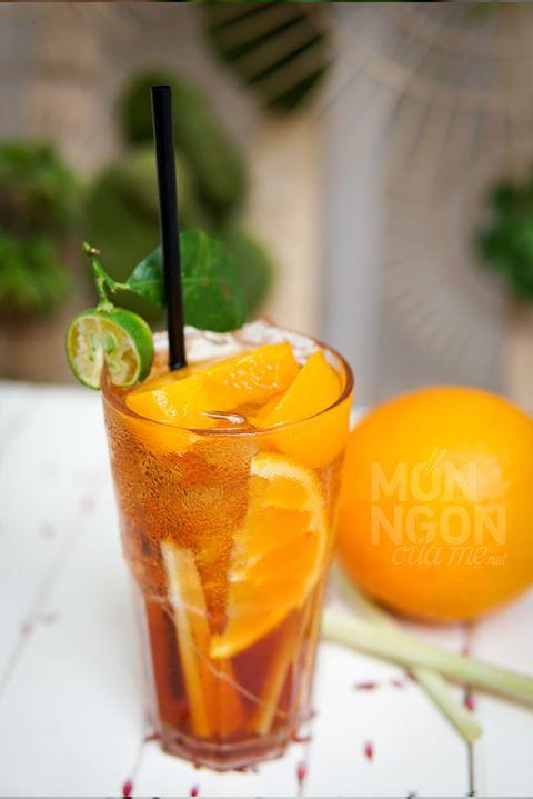 Trà đào cam sả là món nước uống ngon và bổ dưỡng mà bạn nên thử