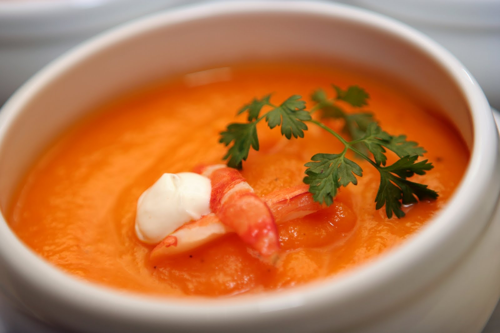 Soup tôm Xú