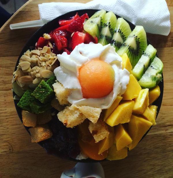 trái cây tô