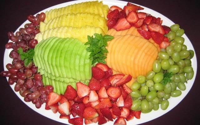 Đa dạng các loại trái cây