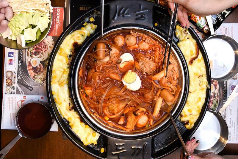 Dookki buffet - lẩu Tokbokki siêu HOT tại 139-141 Nguyễn Gia Trí
