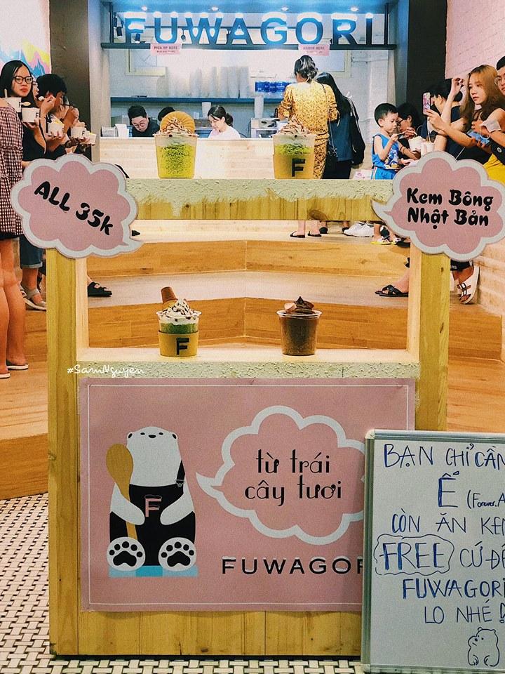 Kem bông Fuwagori
