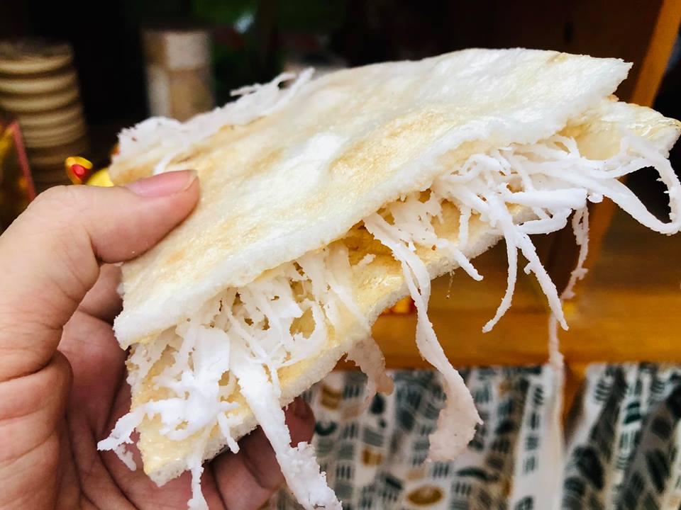 Bánh tráng mạch nha dừa