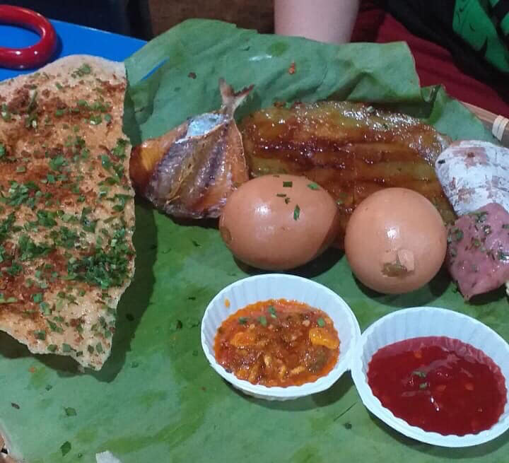 Trứng gà nướng, cá khô nướng ngon quận 9
