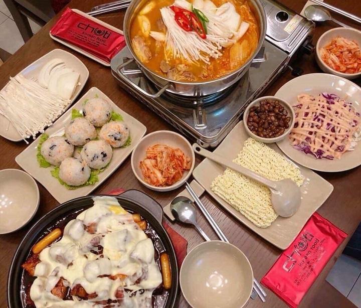 Quán Chuti Hàn Quốc