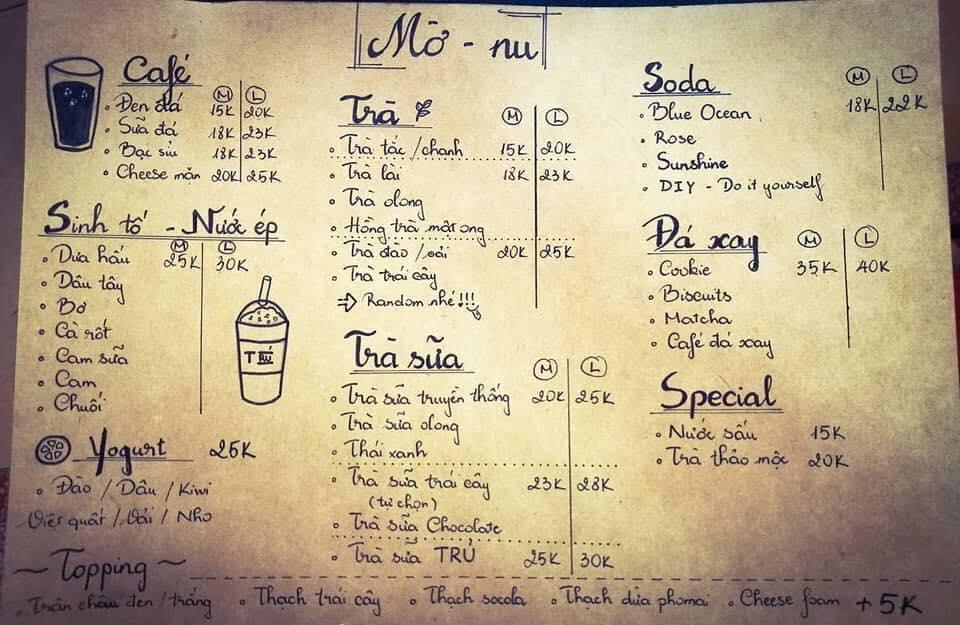 Trú - Quán cà phê đường phố