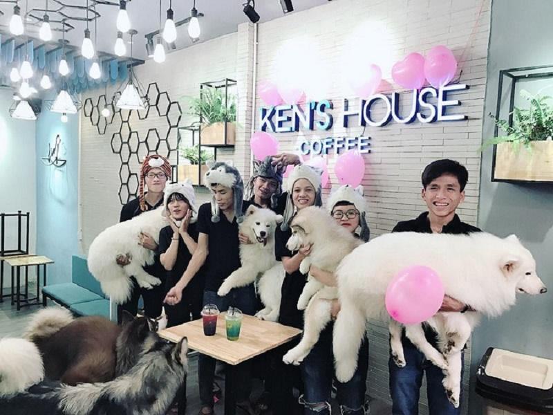 Ken's House Coffee - Cà phê thú cưng dễ thương tại 231 Phạm Văn Hai, Phường 5, Q Tân Bình