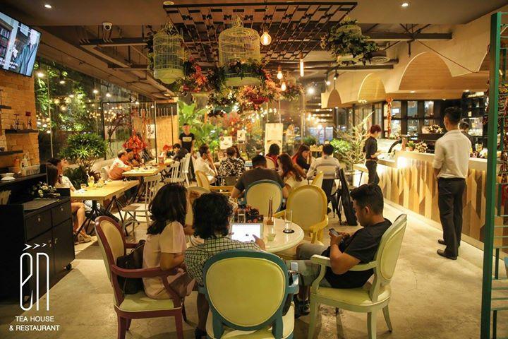 Én Tea House - Quán cà phê đẹp như cổ tích tại địa chỉ 308 Điện Biên Phủ, P.4, Q.3