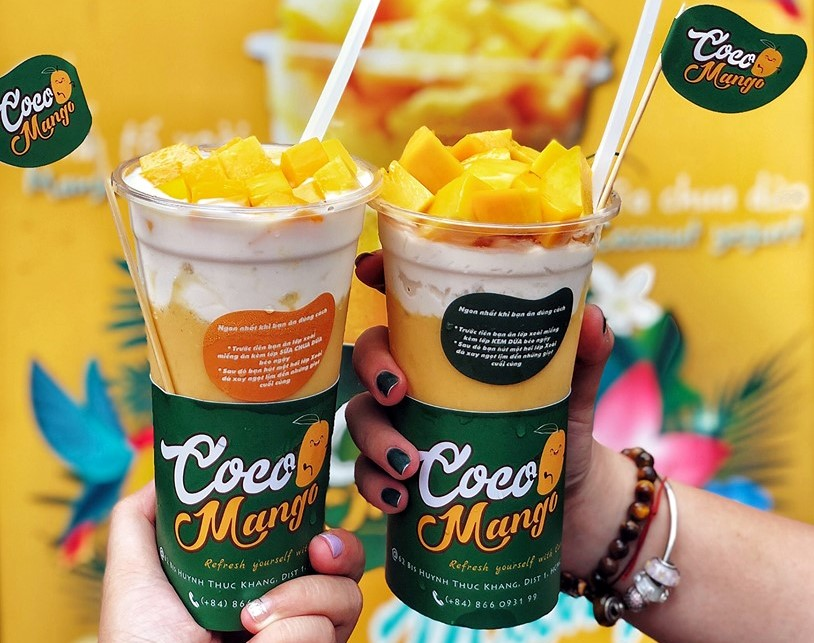 Sinh tố Xoài kem dừa Coco Mango
