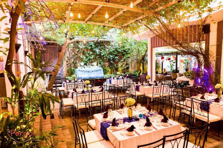 Pergola – Cafe sân vườn đẹp ngây ngất tại 28A Trần Cao Vân, P. 12, Q Phú Nhuận