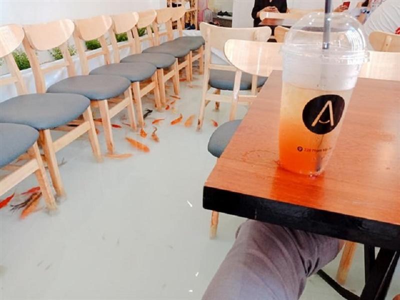 Amix Coffee - Cà phê cá lội siêu hot