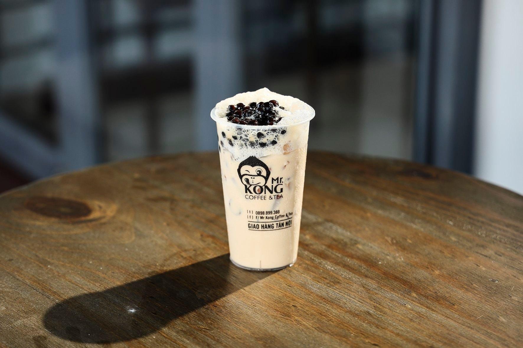 Trà sữa MrKong ngon ngất ngây