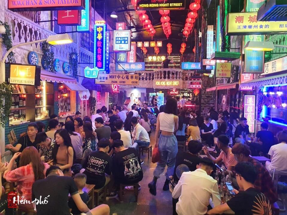 Review quán hẻm phố Hong Kong