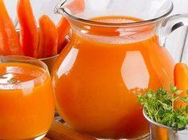 Công thức nước ép cam cà rốt